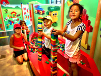Building towers at Legoland