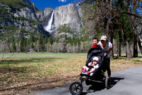 Out for a stroll in the Yosemite valley