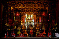 Main Buddha at Longshan Temple