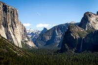 Yosemite Valley (El Capitan, Half Dome, Bridalveil Falls)