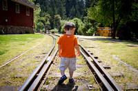 Avery at Roaring Camp Railroads