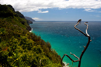 View from the Na Pali Coast Trail