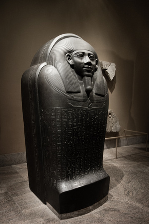 Like a boss. (Sarcophagus of Horkhebit, ca. 590BC)