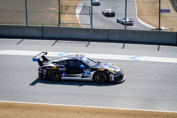 Beautyrest Porsche #27, TUDOR United Sports Car Championship at Mazda Laguna Seca Raceway