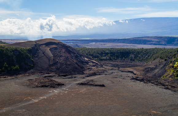 Kīlauea Iki overlook  -- this was a lava lake as recently as 1959, Volcano National Park, Hawaii