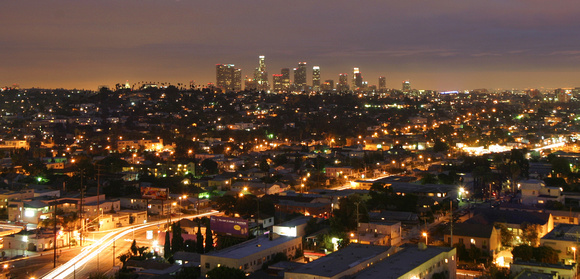 Los Angeles Night Landscape - LIGHTmatter Photography By Aaron Logan Miscellaneous Los Angeles