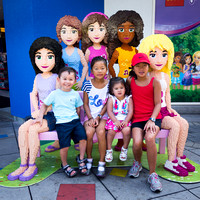 Friends at Legoland