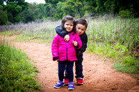 Adelyn and Avery in Red Rock State Park, Sedona, AZ