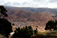 Overlooking Cusco, Peru