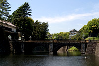 Nijubashi Bridge and the Imperial Palace in Tokyo